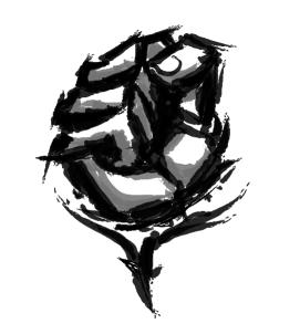 logo symbol for a avantgarde theatre