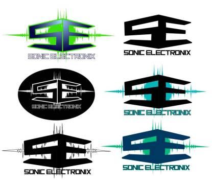 Logo for audio electronics company