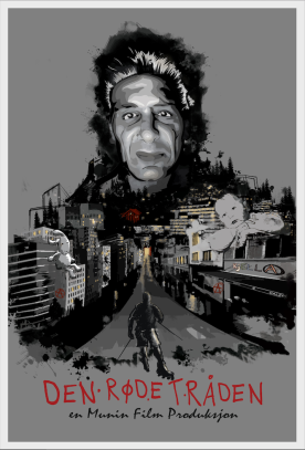 Movie Poster for Munin films. Documentary about Kjella and addiction
