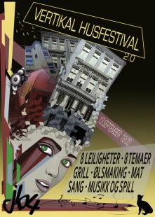 vertical festival poster