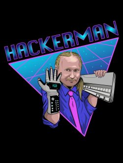 Putin as the Hackerman